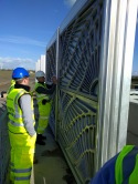 Inspecting the panels x